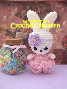 amigurumi pattern crochet Bunny PDF guide by gurumiorama on Etsy, $3.25