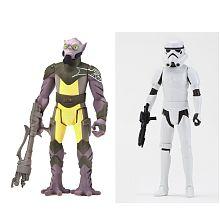 Star Wars Rebels - Mission Series, 2er Pack, Zeb   Stormtrooper