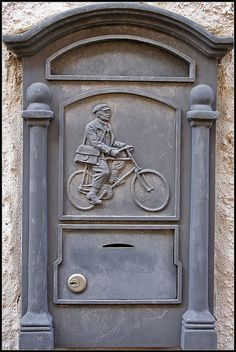 Post box.The postman always rings twice... by xollob58, via Flickr