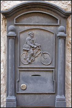 Post box.The postman always rings twice... by xollob58, via Flickr