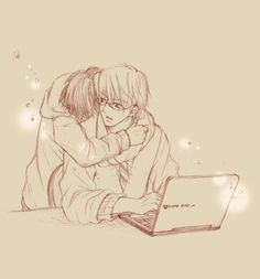 Akihiko usami and Misaki takahashi | junjou romantica |yaoi
