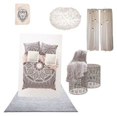"""""""Untitled #2"""" by valeria9303 on Polyvore featuring interior, interiors, interior design, home, home decor, interior decorating, ESPRIT, Magical Thinking, Pottery Barn and Klar"""