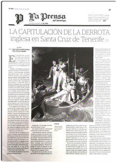 La capitualción de la derrota inglesa en Santa Cruz de Tenerife_Juan Carlos Cardell Cristellys_La Prensa_El Día 16 de julio de 2016