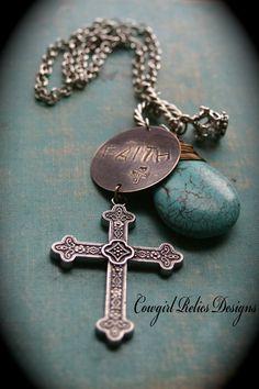 Urban Cowgirl Bold Faith Western Charm by cowgirlrelicsdesigns