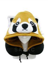 Red Panda Neck Pillow