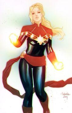Captain Marvel - Marcio Takara