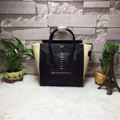 Celine Micro Luggage Handbag 100% Authentic 80% Off Designer Bags For Less 839feaf17f42c