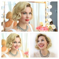 Who doesn't like the classic Marilyn Monroe look!? It's one of my favorites!What You Need: The Beachwaver Pro Wrap Up (if you have long hair) All Purpose Metal Clips On...