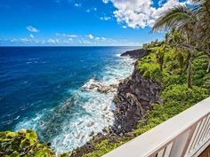 When you walk out on to your balcony at Kehena Beach Villas Ocean Front Vacation Rentals Big Island Hawaii this is the view you will see. Just you and your view, and no obstructions in your way, it can't get any better then that. Come and stay with us at http://www.kehenabeach.com