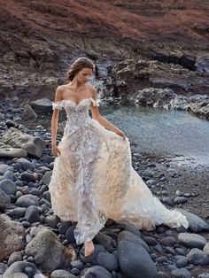Courtesy of Galia Lahav wedding dresses; Photographer: Greg Swales; Wedding dress idea.