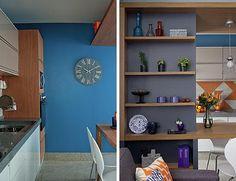 Essa cozinha faz bonito diante das visitas – e esbanja praticidade no dia a dia, claro!