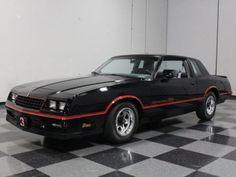1985 Chevrolet Monte Carlo SS.