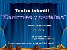1ª fotos de la fiesta de otoño, en el teatro y en clase.