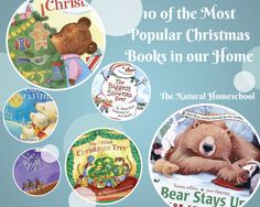 Do you want to know what the most popular Christmas books are in our home? Here is the list!