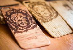 iPhone wood skin