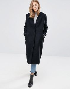 ASOS | ASOS – Oversize-Mantel aus strukturiertem Stoff