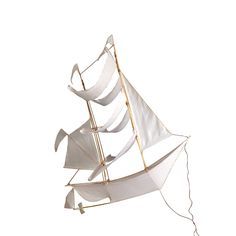 Haptic Lab's Sailing Ship Kite - big, beautiful, stunning hanging from the ceiling, perhaps in a stairwell...