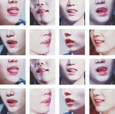 SUGA LIPS♡ #BTS #SUGA  sexy!! I will kiss those someday! lawl