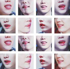SUGA LIPS♡ #BTS #SUGA