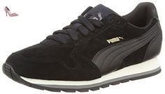 Puma Classic - Sneakers Basses - Mixte Adulte - Noir (Black/Gold/White 87) - 42 EU (8 UK) mq2yZcx