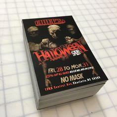 Big sale over @chiefssmokeshop704 on #Halloween #Flyers #postcards #promo #420 #smokeshop #cltstickers #carolinastickers #clt #nc