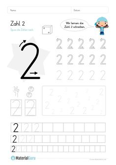 NEW: A free math worksheet for learning to write the number on which . Free Math Worksheets, Kindergarten Math Worksheets, Kindergarten Art Projects, Nursery School, Learning To Write, Problem Solving Skills, Quotes And Notes, Creative Thinking, Kids And Parenting