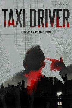 Taxi Driver Film Poster - Pretty cool layering happening here. Best Movie Posters, Cinema Posters, Movie Poster Art, Cool Posters, Great Films, Good Movies, Love Movie, Movie Tv, Plakat Design