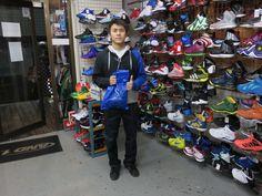 【新宿2号店】2014.12.02 中国からお越しのお客様です。バスケと野球がお好きだそうです。ぜひ、またのご来店お待ちしております!感謝
