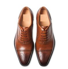 Handmade+Men's+Tan+Brown+Brogue+Leather+Shoes,+Men+Leather+Dress+Formal+Shoes Shoes+Detail+ Upper:+High+Quality+Leather Inner:+soft+leather+ Sole:Leather Gender:Male Heel:Leather Totally+Hand+stitched If+you+can't+find+your+Size/Color+just+send+us+. Brown Dress Shoes, Tan Shoes, Leather Dress Shoes, Leather And Lace, Leather Men, Shoes Men, Brown Brogues, Leather Brogues, Leather Boots