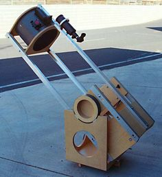 Albert Highe three strut C-channel Telescope, Channel, Future, Space, Universe, Display, Future Tense