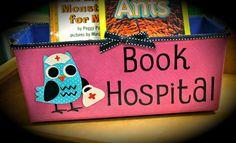 Knižky v nemocnici - miesto pre všetky detské knižky, ktoré potrebujú extra opateru
