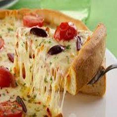 `Pizza de liquidificador