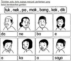 BAHASA MALAYSIA PRASEKOLAH: Latihan Keluarga Saya