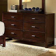 Ferris Collection 6-drawer Dresser - for the guest room/closet room.
