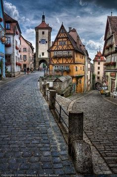 Rothenburg ob der Tauber is a town in the district of Ansbach of Mittelfranken (Middle Franconia), the Franconia region of Bavaria, Germany,...