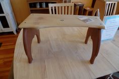 Maple Bench by Dubewoodworks on Etsy