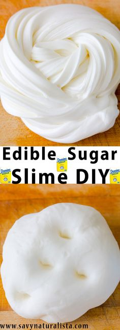 Edible sugar slime requires a few easy pantry ingredients that anyone can find. This edible sugar slime is not only fun to play with but easy to make!