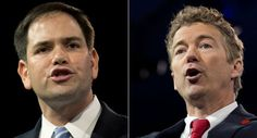 CPAC 2013: Marco Rubio, Rand Paul fight for the future of the GOP (OK Repub's these are your boys--hahahaha)