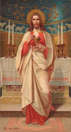 Jueves Sacerdotal: Jesucristo, Sumo y Eterno Sacerdote http://misericordiasinfin.blogspot.com/p/sacerdote.html…