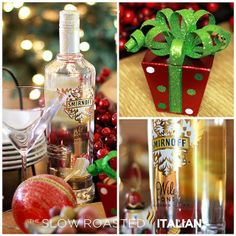 Drinks for Christmas party