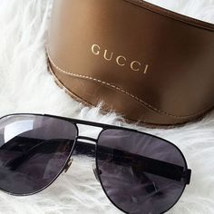 NOTHING PERSONAL: August Review Gucci Aviator Sunglasses / Sonnenbrille