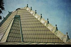 Beth Sholom Synagogue. Frank Lloyd Wright. Elkins Park, PA. 1954