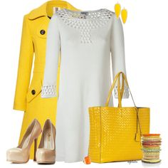 """""""A Little Bit of Sunshine in the Fall..."""" by angkclaxton on Polyvore"""