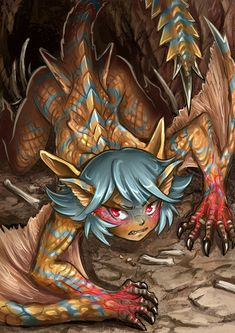 Tigrex-chan by Maxa-art.deviantart.com on @DeviantArt