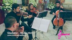 Gladiator Honor Him Cuarteto de cuerda Bodas Murcia San Bartolome Musica...