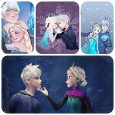 the feels between jack frost and elsa hurts so much