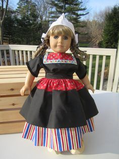 Dutch American Girl Doll Outfit