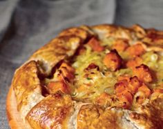 Butternut Squash and Caramelized Onion Galette by Deb Perelman from The Smitten Kitchen Cookbook #SetTheTable