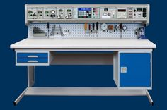 Time Electronics Calibration Benches are multi purpose work stations for industrial calibration and testing applications. They are commonly used in process plants, refineries, offshore platforms and engineer training centres. Each bench is custom-made to end user requirements, with modules to cover electrical, temperature, pressure and process calibration, and much more.