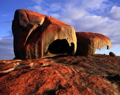 Remarkable rocks Flinders Chase national park Kangaroo Island - Australia. This was a remarkable place. Beautiful World, Beautiful Things, Wonders Of The World, Australia Tourism, South Australia, Australia 2017, Lonely Planet, Sydney, Brisbane